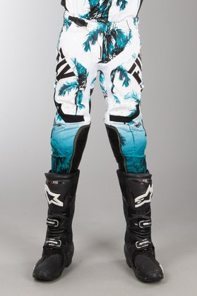 FLY Lite MX-Trousers - Paradise Teal-Black