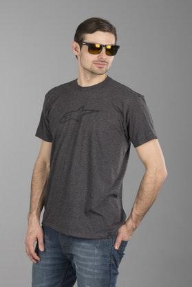 Alpinestars Ageless II T-Shirt - Heather-Charcoal-Black