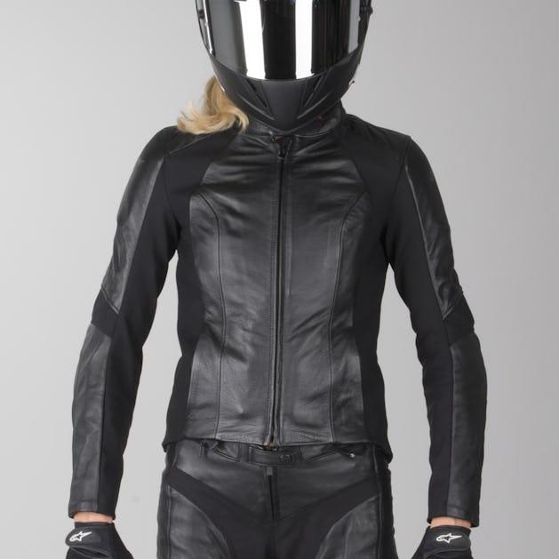 attractive price novel style where to buy Alpinestars Ladies Vika Leather Jacket Black