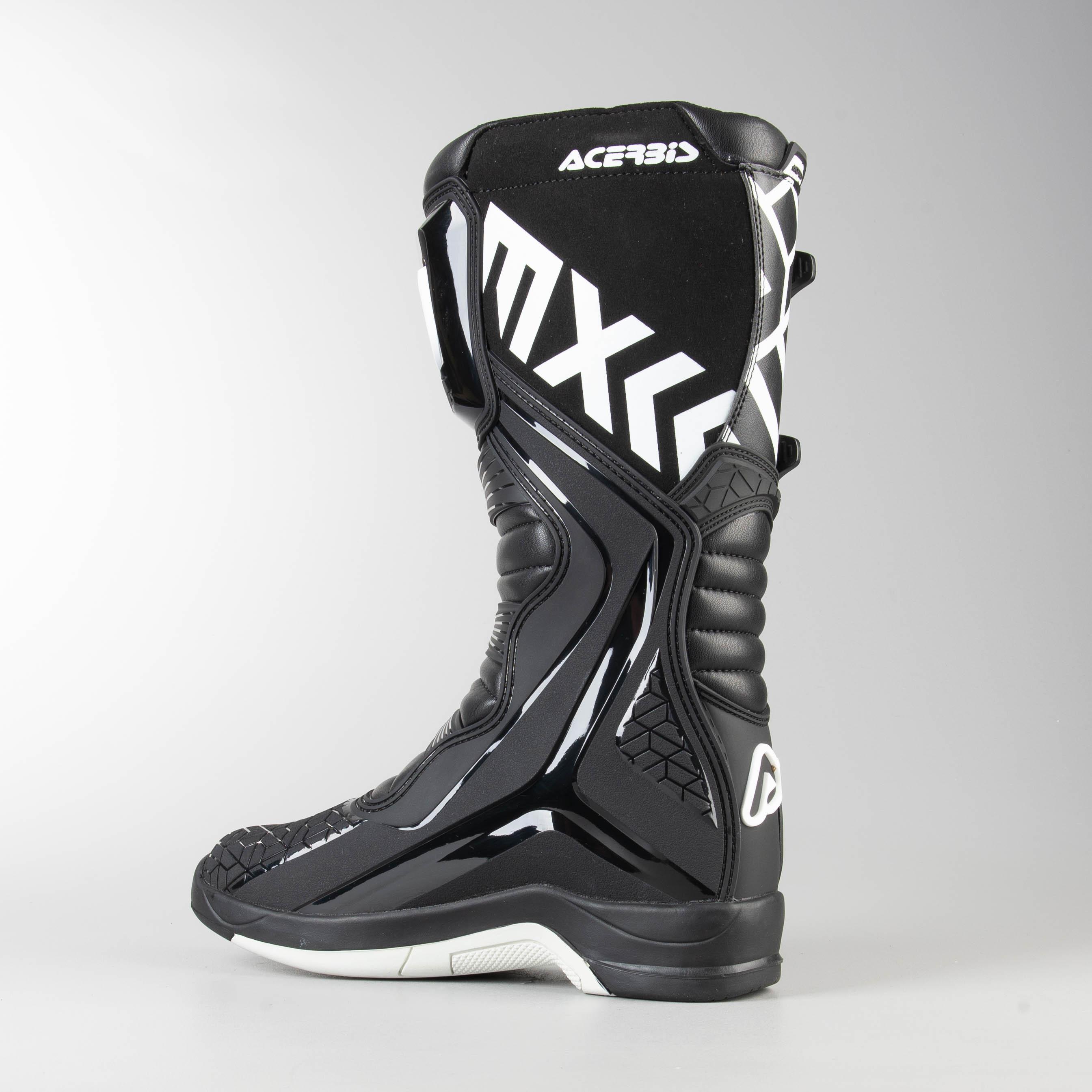 Acerbis X-Team Motocross Boots Yellow//White