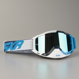 FXR Boost XPE  MX Goggles Blue-White