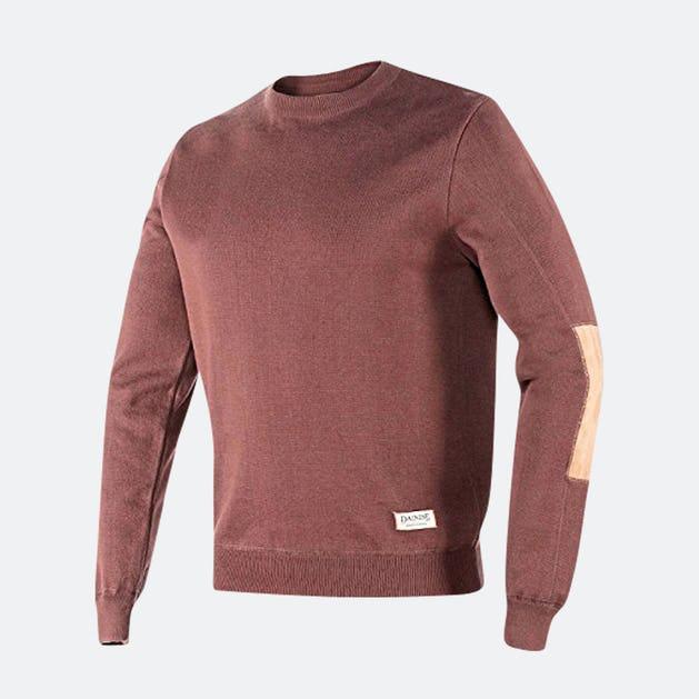 brun skjorte genser