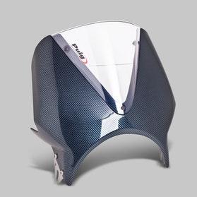 Owiewka Puig Vision Honda Karbon-Przezroczysta
