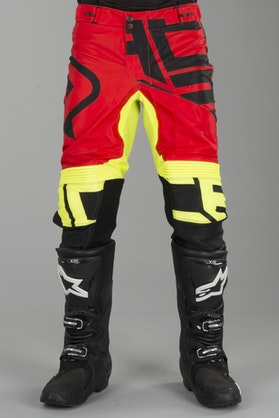 Acerbis X-Flex Alfa MX Trousers Black-Red