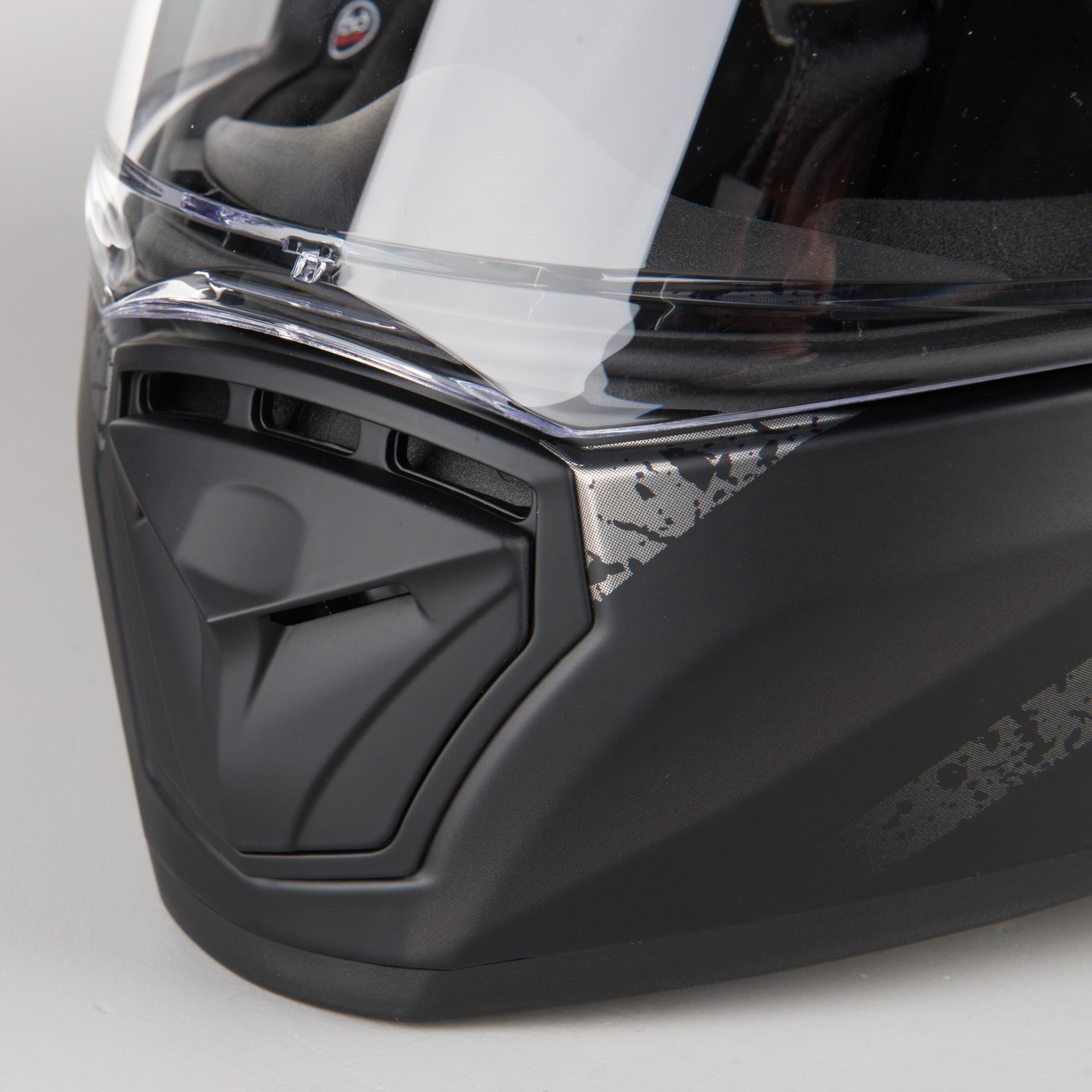 LS2 Anti-Scratch FF390 Breaker Motorcycle Helmet Visor Face Shield Silver