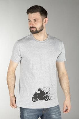 XLMoto MC Pixel T-Shirt Grey