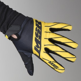 MSR Youth M17 MX Gloves Axxis Black-Yellow-Grey