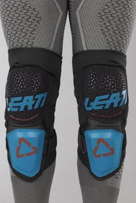 Chrániče Kolen Leatt 3DF Hybrid Modré-Černé