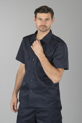 Brandit US 1/2 Shirt - Navy