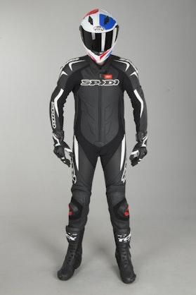 Kombinezon skórzany Spidi Supersport Wind Pro Czarno-Biały