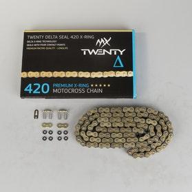 Twenty Delta Seal 420 X-Ring Chain