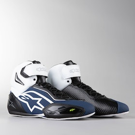 Alpinestars Faster 2 Vented MC Shoes Black-White-FluoGul