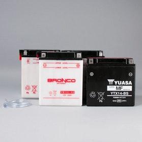 Akumulator motocyklowy Yuasa suchy, według modelu