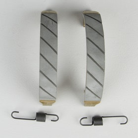 EBC Grooved Front Brake Shoes with Springs