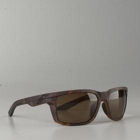 100% Daze Sunglasses Matte Dark Havana-Bronze Lens
