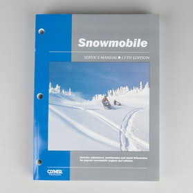 Książka serwisowa Clymer Zabytkowe skutery śnieżne1962-1986
