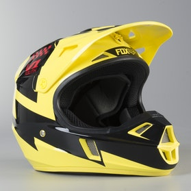 Motokrosová Helma Dětská Fox V1 Mastar Žlutá