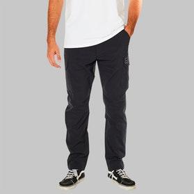 Fox Pit Slambozo Tech Cargo Trousers Black