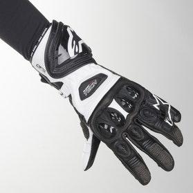 Rękawice Alpinestars Supertech 2 Czarno-Białe