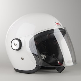 Kask Bell Riot Solid Biały