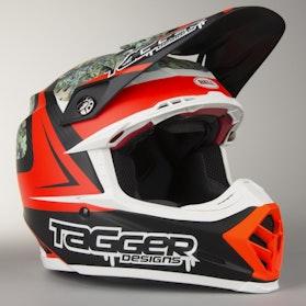 Crossová Helma Bell Moto-9 Flex Tagger Rekluse