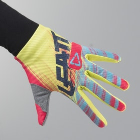 Leatt GPX 1.5 Junior MX Gloves Red-Lime