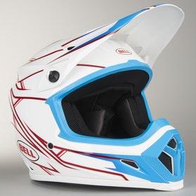 Bell MX-9 Helmet Pinned White