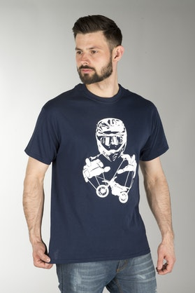 Koszulka 24MX Marionette Niebieska