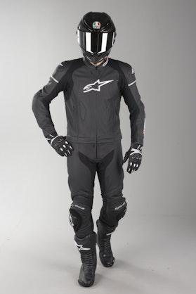 Alpinestars GP Force Leather Suit Black 2 Parts