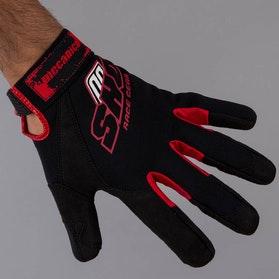 Rękawice warsztatowe Shot czerwono-czarne