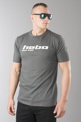 T-Shirt Hebo Race Wear Szary