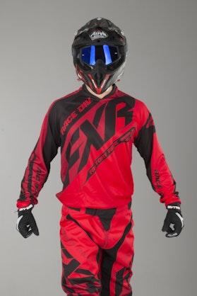 Bluza Cross FXR Clutch Prime Czerwono-Czarna