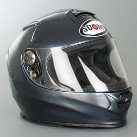 Suomy Helmet SR Sport Mono Antracit Black