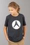 T-Shirt Alias Circled Dziecięcy Ziemistoszary