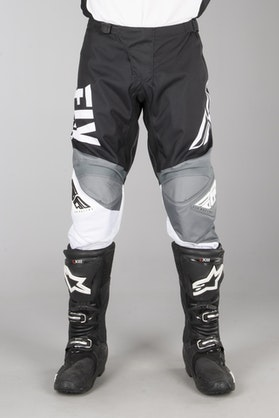 FLY F-16 MX-Trousers - Black-White-Grey