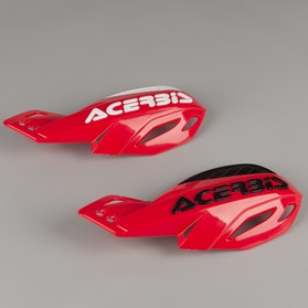Acerbis Uniko Vented Handguards Red