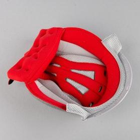 Interiér Helmy Bell M6 Červený