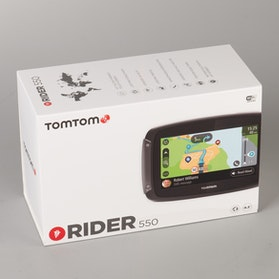Navigation TomTom Rider 550 World 4,3""