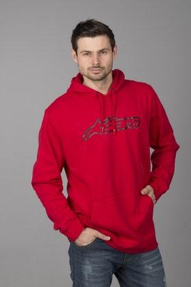 Bluza z Kapturem Alpinestars Blaze Czerwona