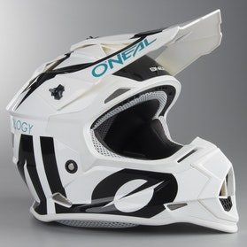 Motokrosová Helma Dětský Model O'Neal 2-Series Slick Černá-Bílá