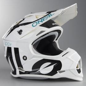 O'Neal 2-Series Slick Children's MX Helmet Black-White