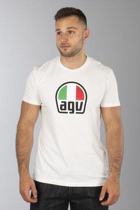 T-Shirt AGV Biały