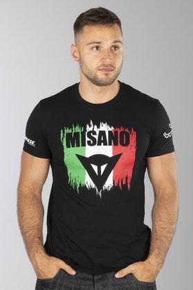 T-Shirt Dainese Misano D1 Czarny