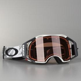 Oakley Airbrake MX-Goggles Matte White