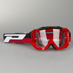 Progrip Moto Art 3200 Goggles Red