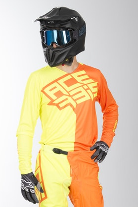 Bluza Cross Acerbis Eclipse Fluorescencyjno Żółto-Pomarańczowa