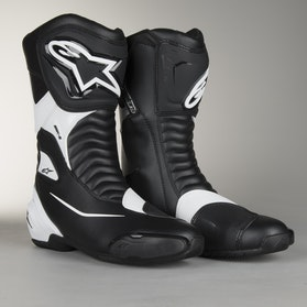 Alpinestars SMX S Boots Light Grey
