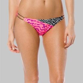 Dół Bikini Fox Refraction Pomarańczowy