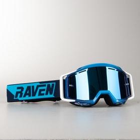 Gogle Cross Raven Sniper VentMax Podwójne Soczewki Blue Echo Niebieska Lustrzanka