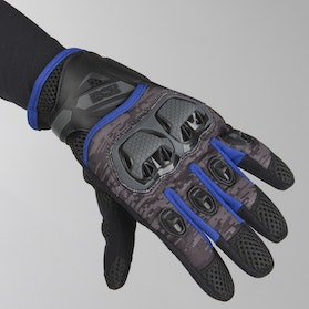 IXS Tour LT Montevideo Air Gloves Black-Grey-Blue